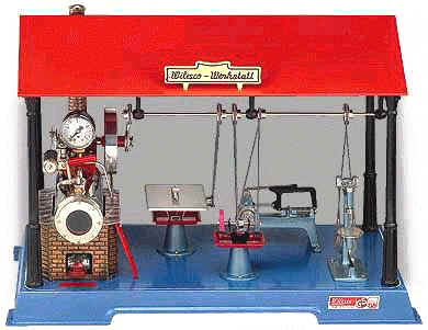 Wilesco model steam engine workshop D141